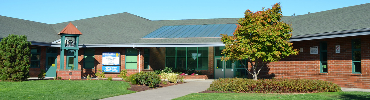exterior front of Clear Lake Elementary